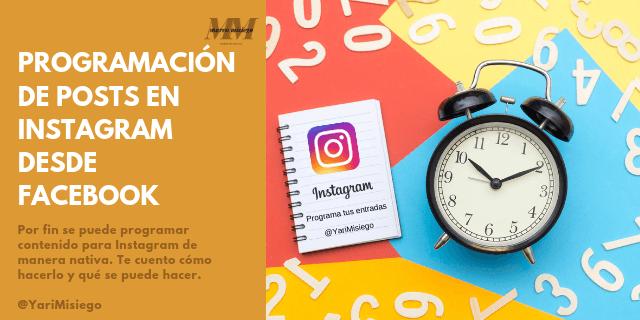 programación de posts en instagram