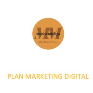 Plan de marketing digital ejemplo