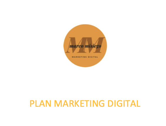 Plan de marketing digital ejemplo